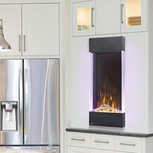 Napoleon Vertcal Electric Fireplace NEFVC38H & NEFVC32H