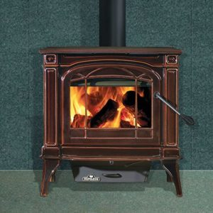 Napoleon Cast Iron Brown Enamel Wood Stove $1599.