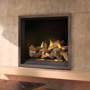 NEW-Napoleon Elevation EX Series Gas Fireplace – Featuring – Modulating ELECTRIC Ember Bed