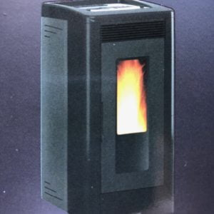Vicenza Pellet Stove V5.2K – $1,999. – 26% IRS Tax Credit Approved