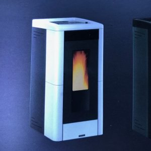 Vicenza Pellet Stove V5.2W – $1,999. – 26% IRS Tax Credit Approved