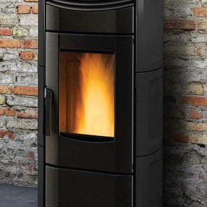 Vicenza Pellet Stove V4.5K – $1,999. – 26% IRS Tax Credit Approved