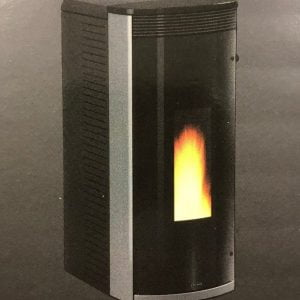 Vicenza Pellet Stove V3.4G Gray $1,999. – 26% IRS Tax Credit Approved